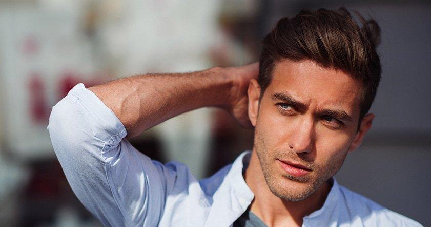 Types of hair dye for men