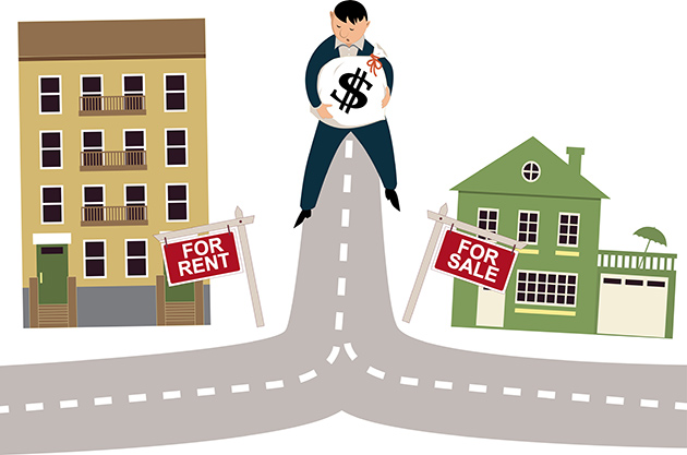 What is better, renting or buying a house?