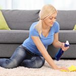 Tips to clean a carpet